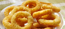Side orders - onion rings